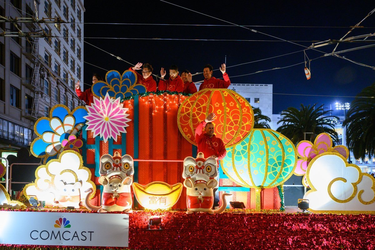 San Francisco's Chinese New Year Parade Marches On