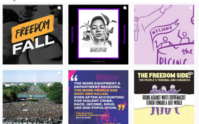 October 2020 Resource Roundup: 9 Black Activists to Follow on Instagram