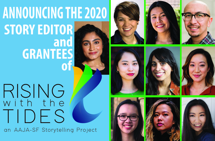 """""""Telling Our Own Stories"""": Rising with the Tides, a storytelling project by Comcast California and Asian American Journalists Association"""