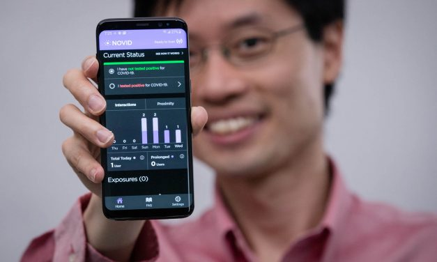 Po-Shen Loh Takes Action by Developing a COVID Tracking App