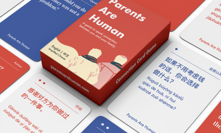 Parents Are Human: A Game to Break Down Barriers